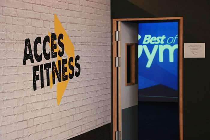 Accès studio fitness