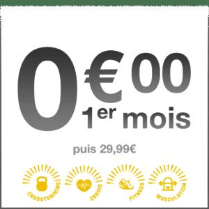 Offre Spéciale chez Best Of Gym à Rennes